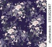 watercolor seamless pattern of... | Shutterstock . vector #1551822887