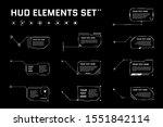 hud digital futuristic callout...