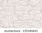 vector seamless pattern... | Shutterstock .eps vector #155184641