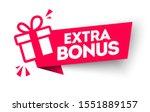 vector illustration red extra... | Shutterstock .eps vector #1551889157