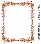 Red And Orange Frame With...