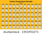 Guitar Chart Bundle Vector Can...