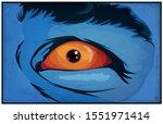 comic books mutant superhero... | Shutterstock .eps vector #1551971414