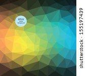 color theme vector abstract... | Shutterstock .eps vector #155197439