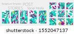 creative backgrounds for social ... | Shutterstock .eps vector #1552047137
