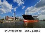 Large Tanker Ship Oil Transport ...