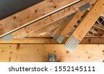 Roof Trusses Covered With A...