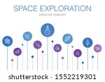 space exploration infographic...