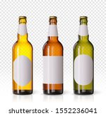 wheat beer ads  realistic... | Shutterstock .eps vector #1552236041