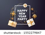 happy new year party invite... | Shutterstock .eps vector #1552279847