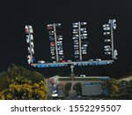 Aerial Top View Of Boats In...