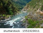 Small photo of Rogue River wilderness at Rainie Falls in Grants Pass, Oregon