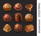 Assorted Chocolates. Dark  Milk ...