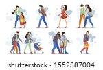 group people family elderly... | Shutterstock .eps vector #1552387004