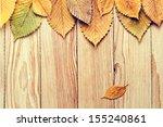 autumn background   Shutterstock . vector #155240861