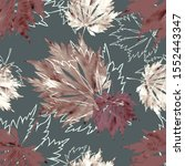 seamless pattern of japanese... | Shutterstock . vector #1552443347