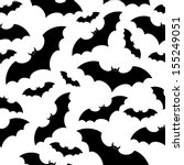 seamless background with bats....   Shutterstock .eps vector #155249051