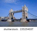 tower bridge  london  uk.       | Shutterstock . vector #155254037
