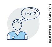 education   school line icons... | Shutterstock .eps vector #1552584671