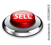 a red button with the word sell ... | Shutterstock .eps vector #155258915