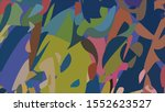 geometric design. colorful... | Shutterstock .eps vector #1552623527