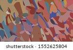 geometric design. colorful... | Shutterstock .eps vector #1552625804
