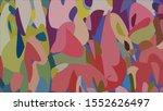 geometric design. colorful... | Shutterstock .eps vector #1552626497