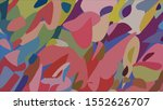 geometric design. colorful...   Shutterstock .eps vector #1552626707