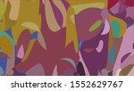 geometric design. colorful... | Shutterstock .eps vector #1552629767