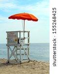 An Empty Lifeguard Tower...