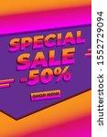 modern flash sale mobile for...   Shutterstock .eps vector #1552729094