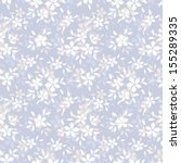 seamless pattern with flowers.... | Shutterstock .eps vector #155289335