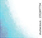 blue random dots background ... | Shutterstock .eps vector #1552897754
