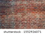 Red Brick Wall  Background ...