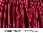 red satin  | Shutterstock . vector #155299067