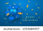 merry christmas or new year... | Shutterstock .eps vector #1553084957