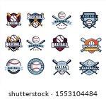 set of baseball championship...   Shutterstock .eps vector #1553104484