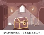 medieval themed escape room... | Shutterstock .eps vector #1553165174
