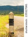 Roadside Pillar In Thailand