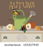 autumn | Shutterstock .eps vector #155327945
