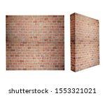 3d Illustration Brick Wall On ...
