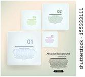 modern design minimal style... | Shutterstock .eps vector #155333111