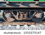 Fragment Of Old Rusty Railway...