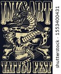 Ink And Art Tattoo Fest Poster...