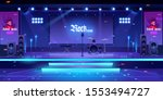 stage with rock music...   Shutterstock .eps vector #1553494727