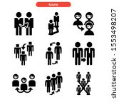 referral icon isolated sign... | Shutterstock .eps vector #1553498207