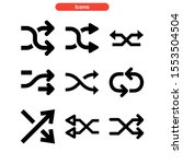 Random Icon Isolated Sign...