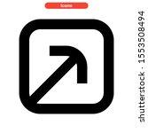 maximize icon isolated sign...