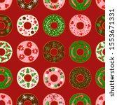 Christmas Donuts  Seamless...