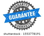 guarantee grunge stamp with... | Shutterstock .eps vector #1553778191
